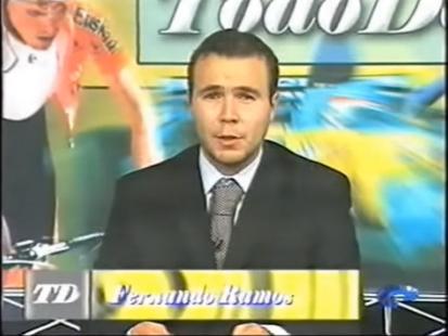 Año 2005. Presentador Oviedo Televisión