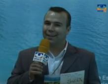 Año 2007. Presentando en la televisión inmobiliaria de Publiselecta