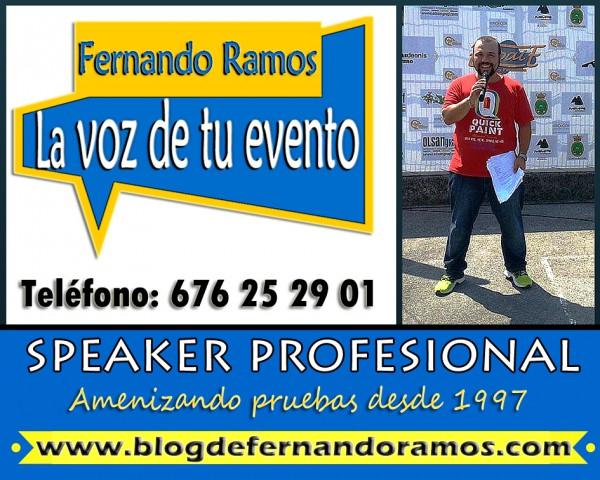 Speaker deportivo - speaker de ciclismo - speaker eventos