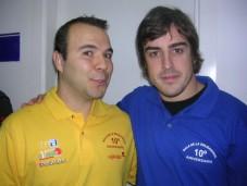 Año 2007. Especialista de F1 en Punto Radio.
