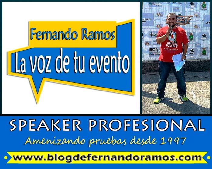 Speaker Deportivo y Presentador de Eventos