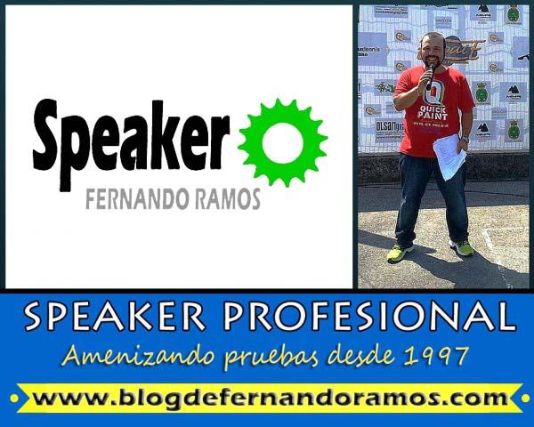 Speaker de eventos deportivos
